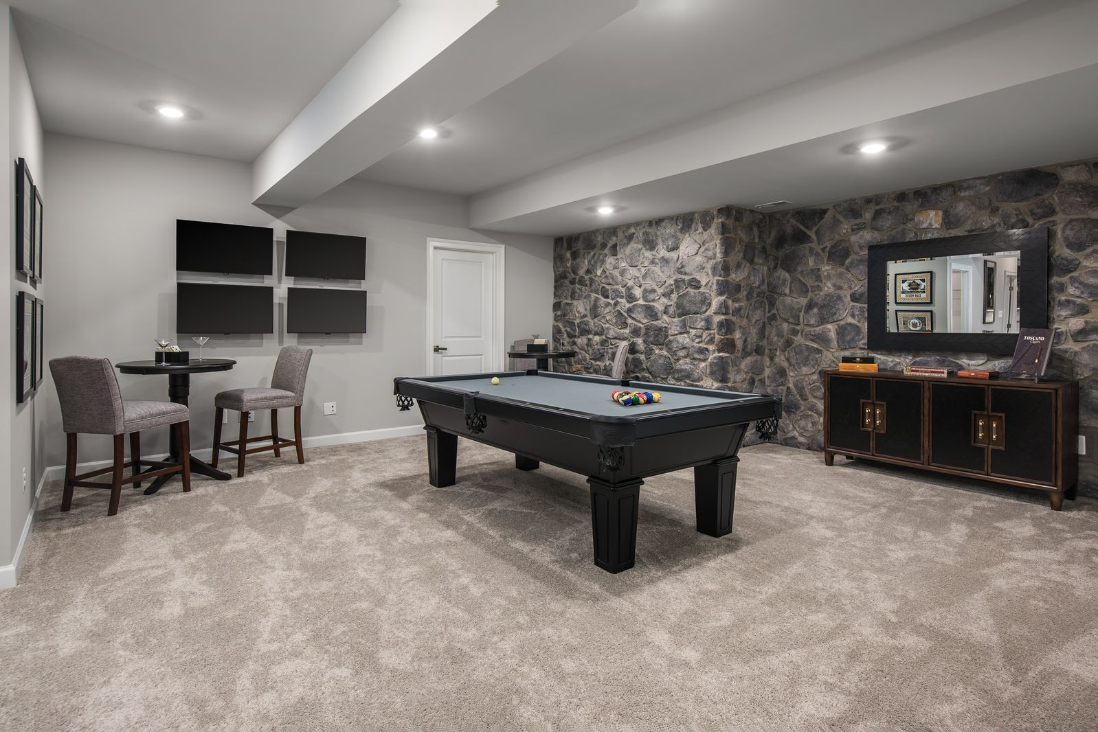 Living Area featured in the Clifton Park II By NVHomes in Washington, VA