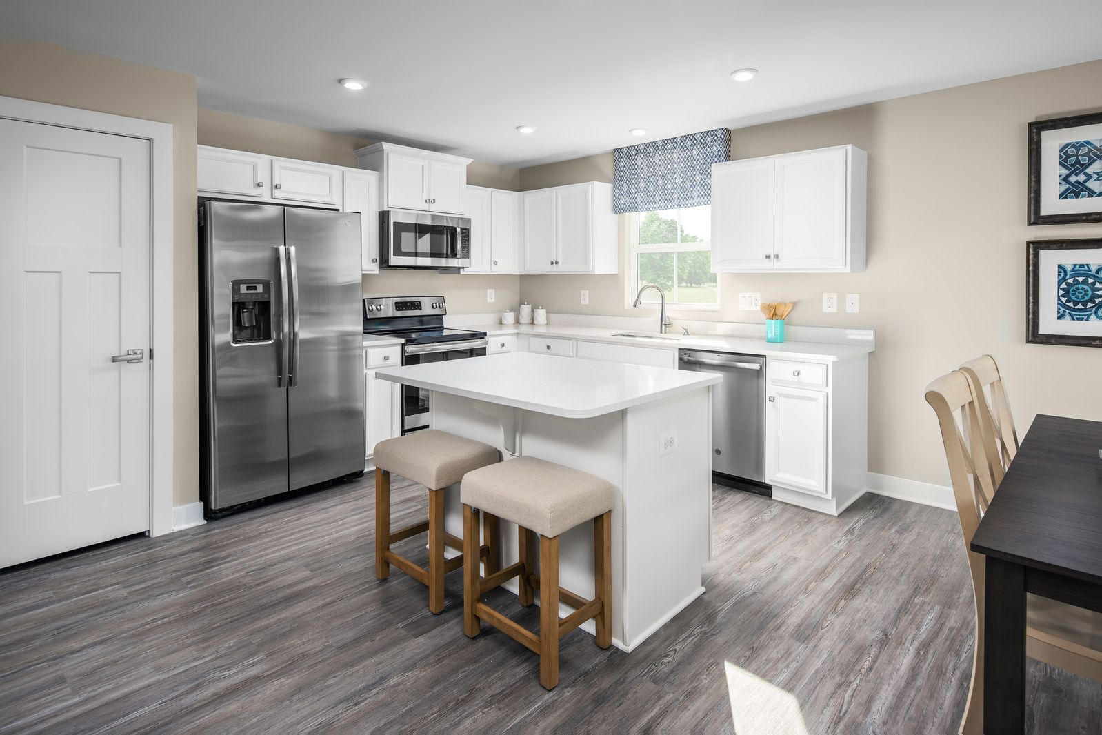 Kitchen featured in the Bahama By Ryan Homes in Canton-Massillon, OH