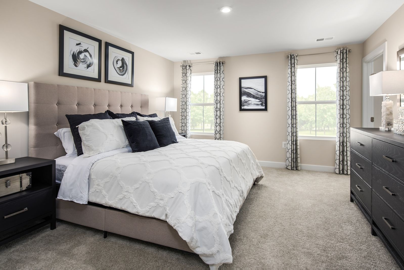 Bedroom featured in the Cayman Basement By Ryan Homes in Washington, WV