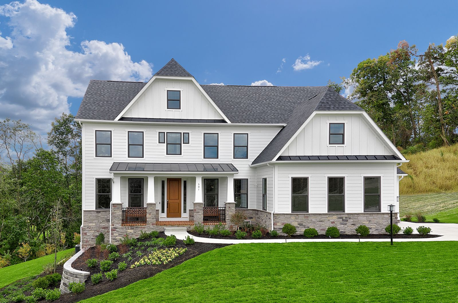 Exterior featured in the Radford By HeartlandHomes in Pittsburgh, PA