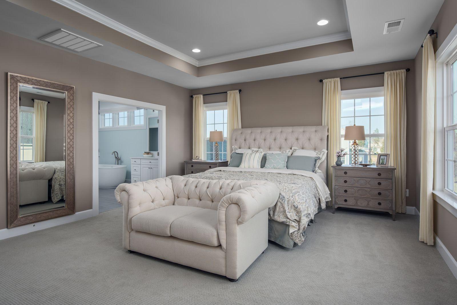 Bedroom featured in the Radford By HeartlandHomes in Morgantown, WV