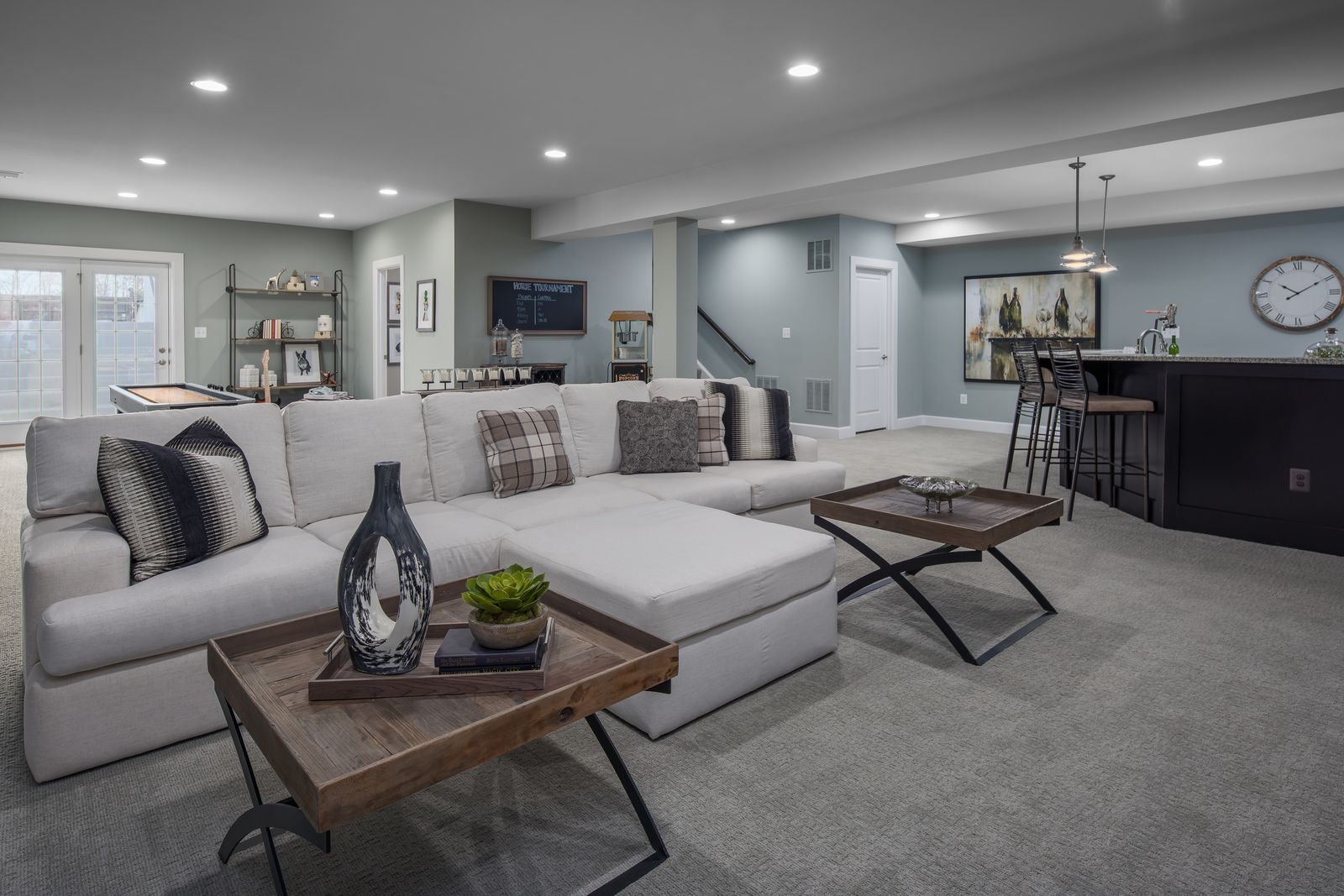 Living Area featured in the Radford By HeartlandHomes in Morgantown, WV