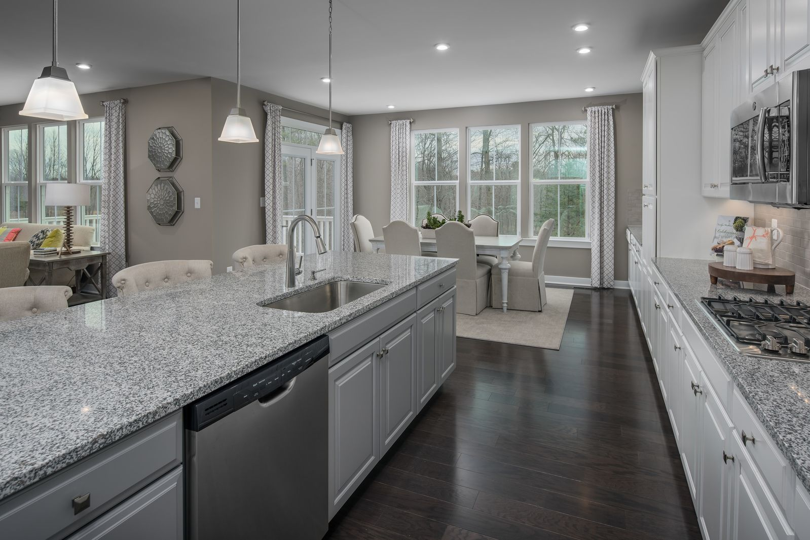 Kitchen featured in the Landon By HeartlandHomes in Morgantown, WV