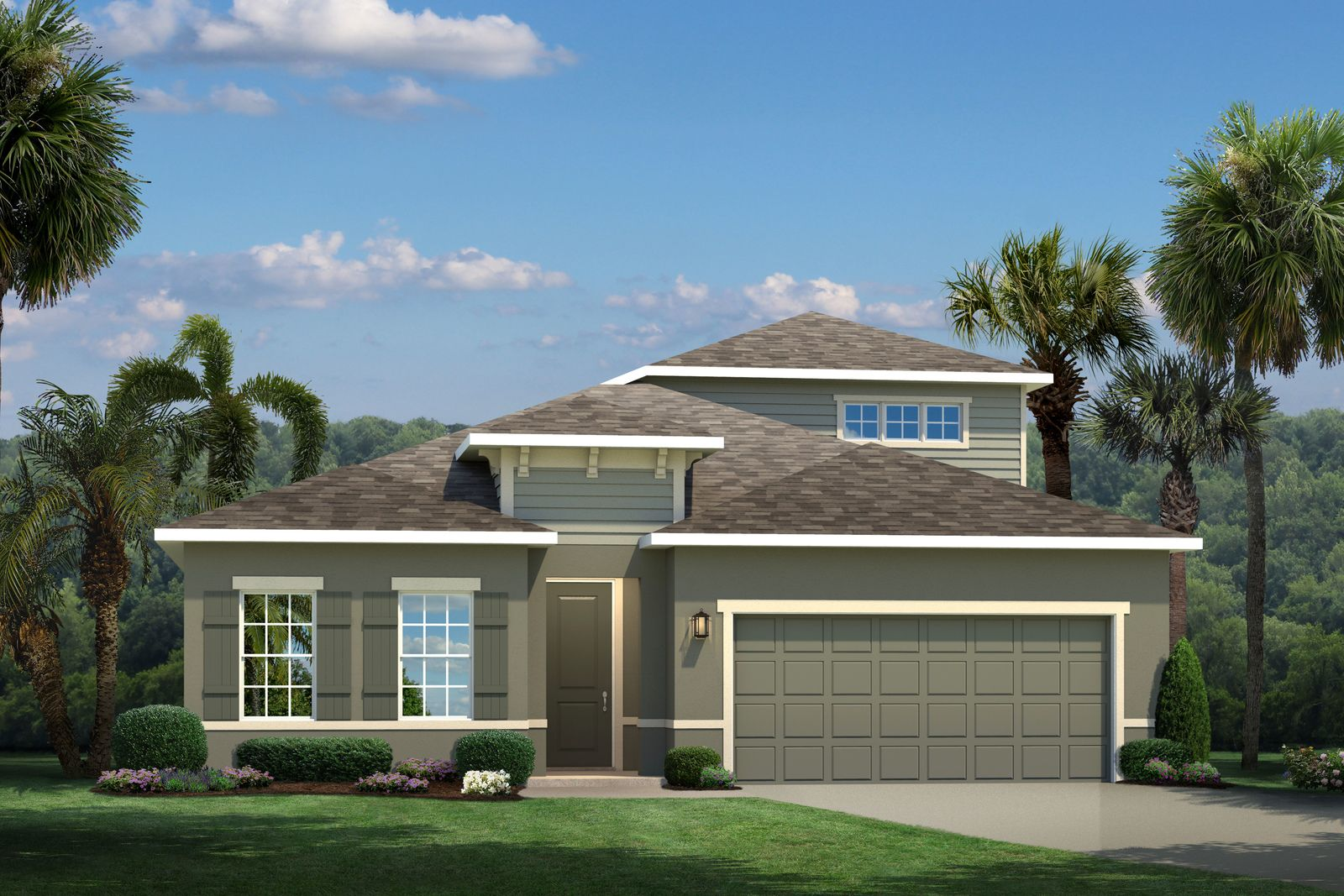 Exterior featured in the Panama By Ryan Homes in Orlando, FL
