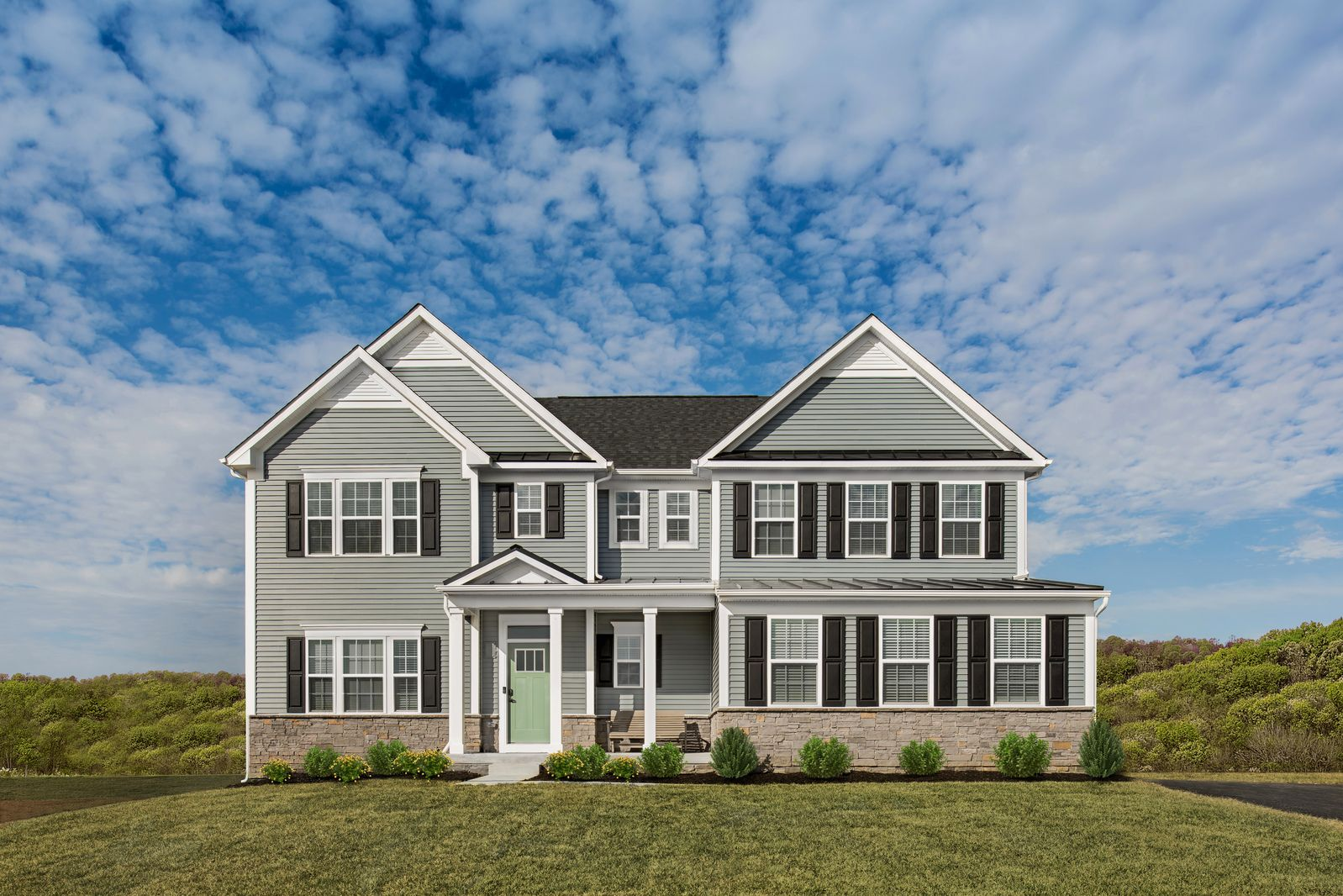Exterior featured in the Roanoke By Ryan Homes in Washington, MD