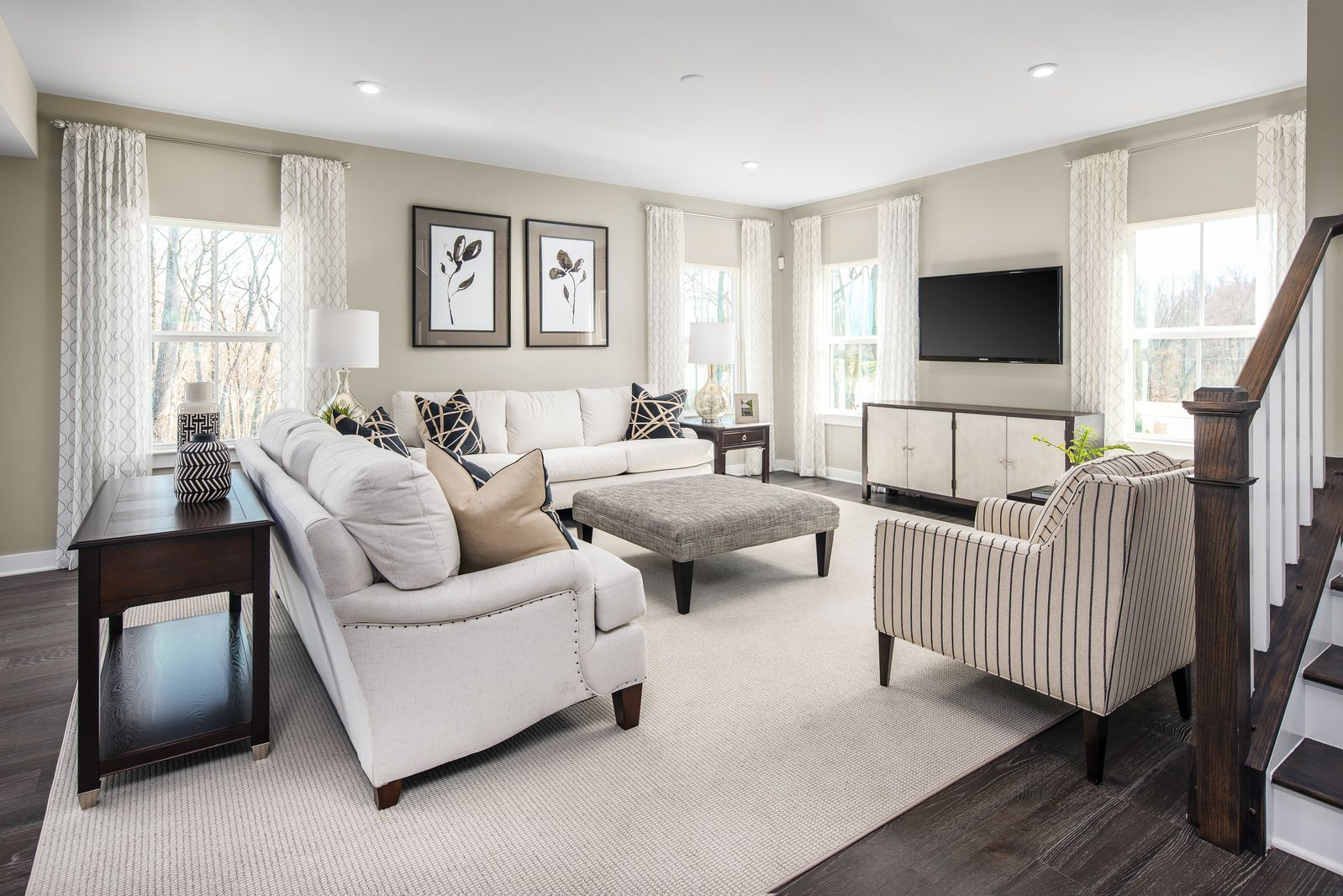 Living Area featured in the Seneca By Ryan Homes in Washington, VA