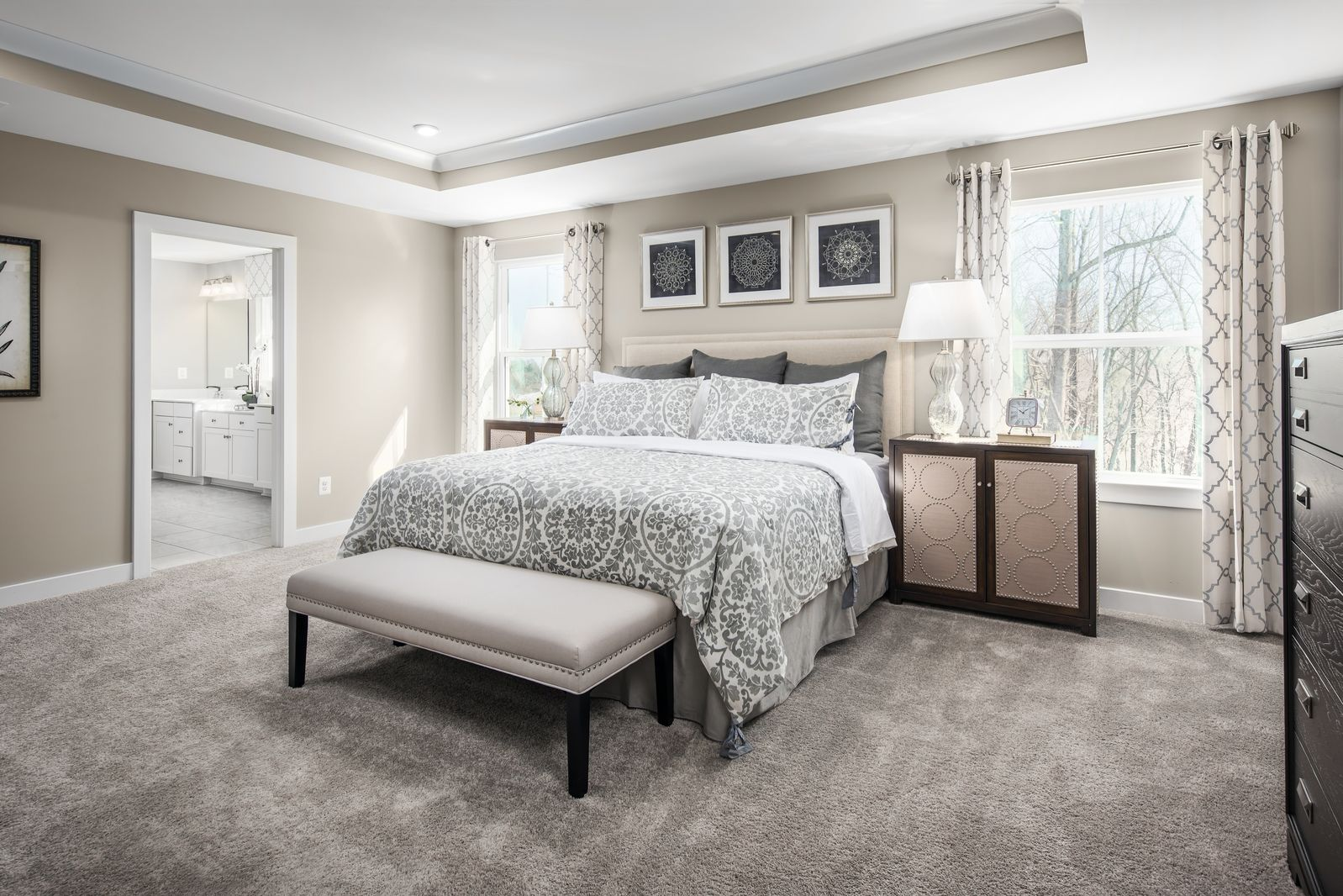Bedroom featured in the Seneca By Ryan Homes in Outer Banks, NC