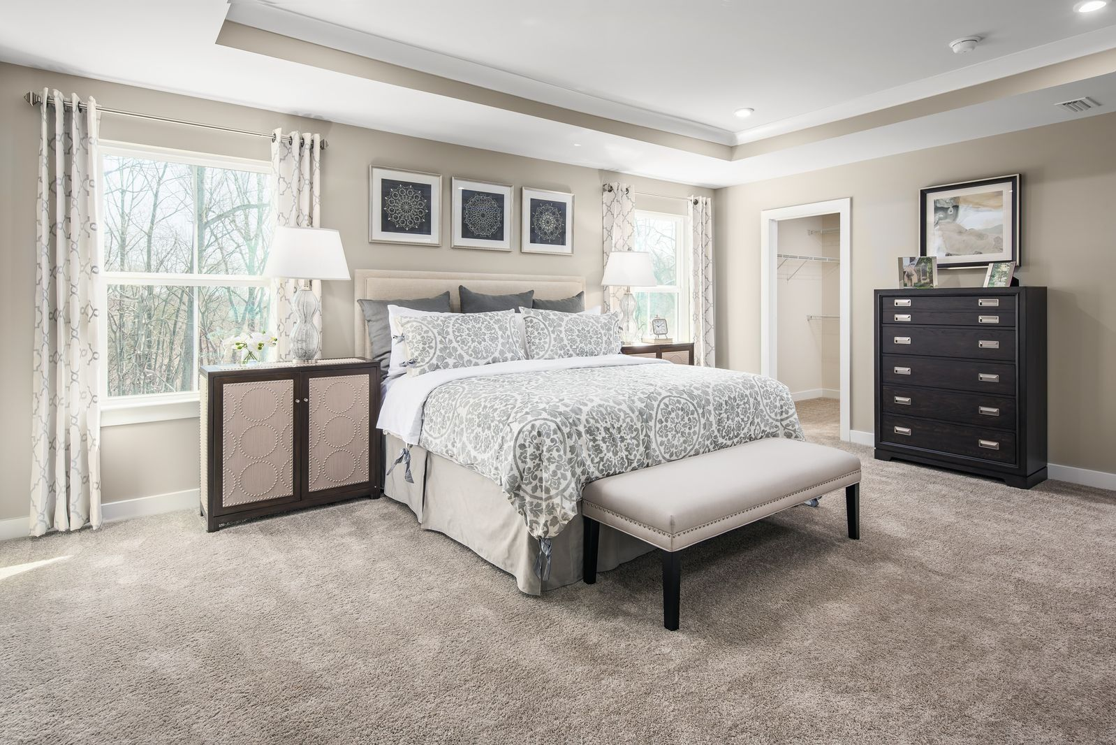 Bedroom featured in the Seneca By Ryan Homes in Washington, MD