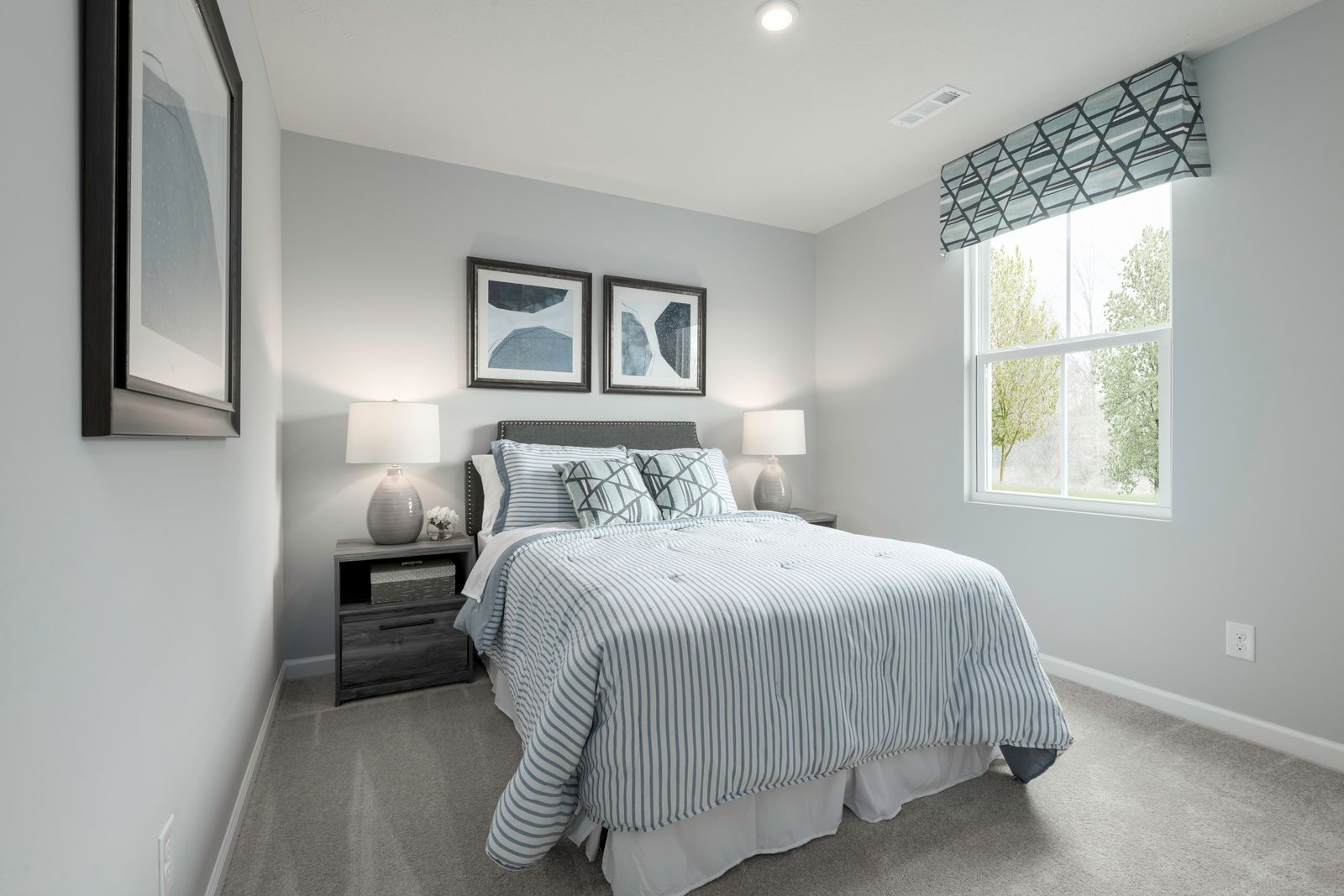 Bedroom featured in the Birch By Ryan Homes in Greenville-Spartanburg, SC