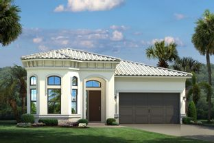 Palmetto Grande- The Whitehall Collection - The Falls at Parkland Single Family Homes 55+: Parkland, Florida - Ryan Homes