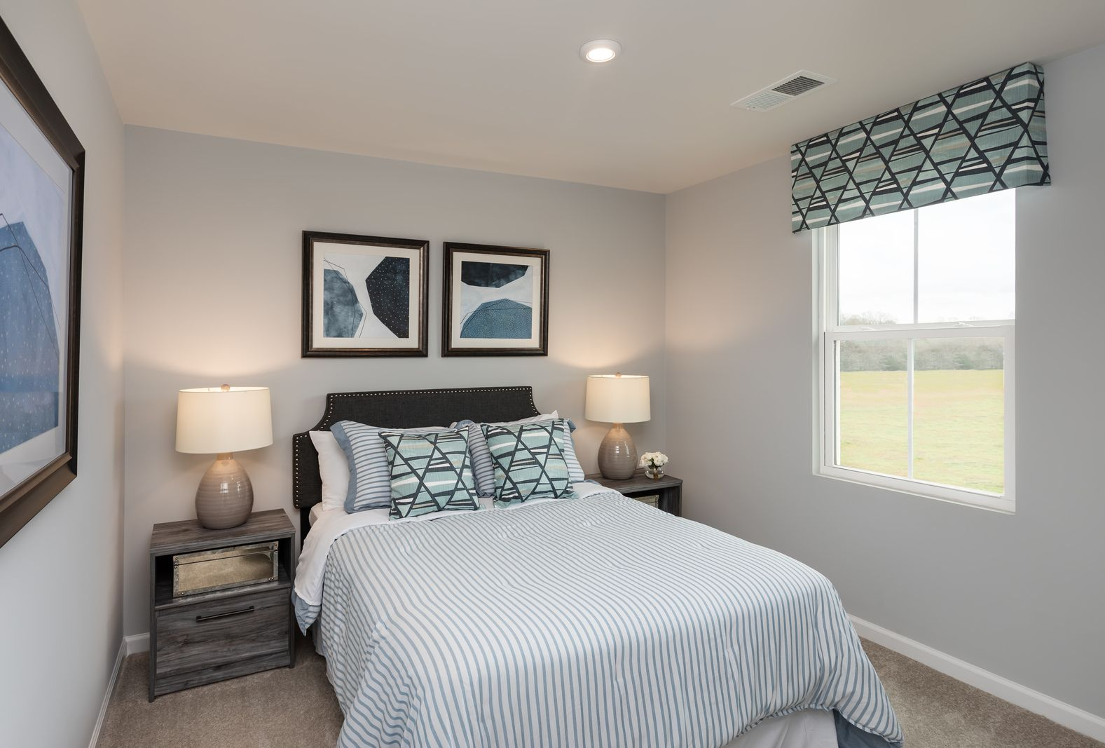 Bedroom featured in the Birch By Ryan Homes in Chicago, IL