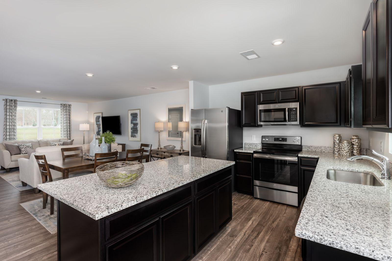 Kitchen featured in the Birch By Ryan Homes in Greenville-Spartanburg, SC