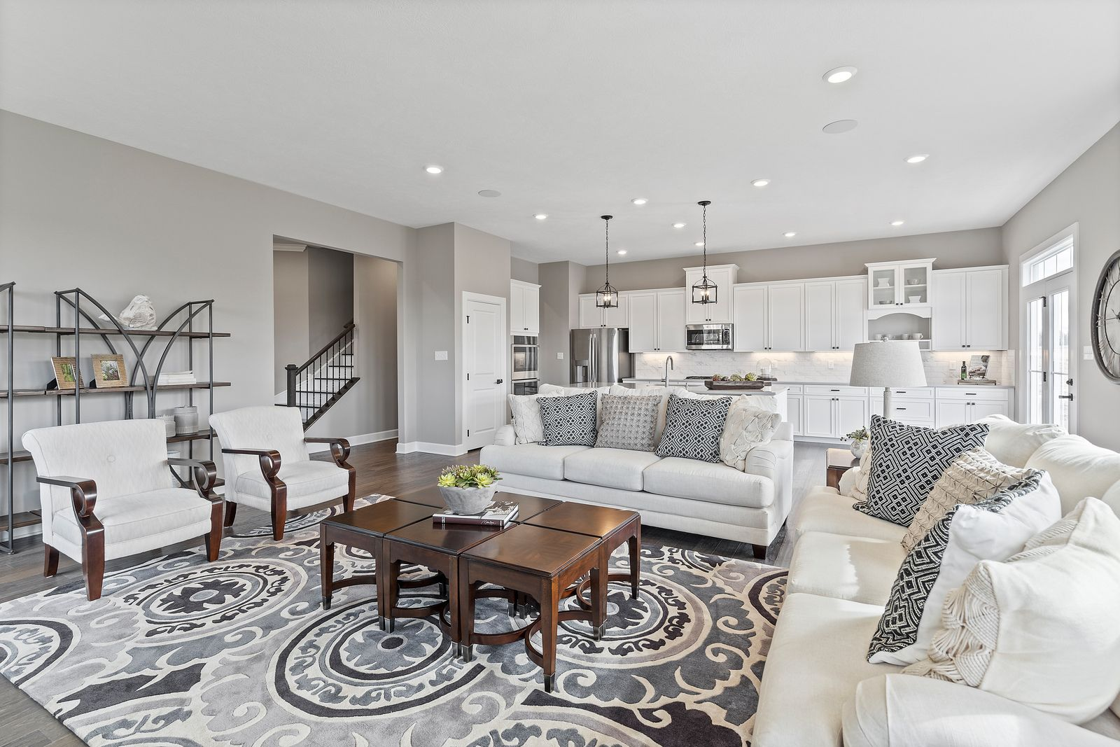 Living Area featured in the Springmanor Grande By HeartlandHomes in Pittsburgh, PA