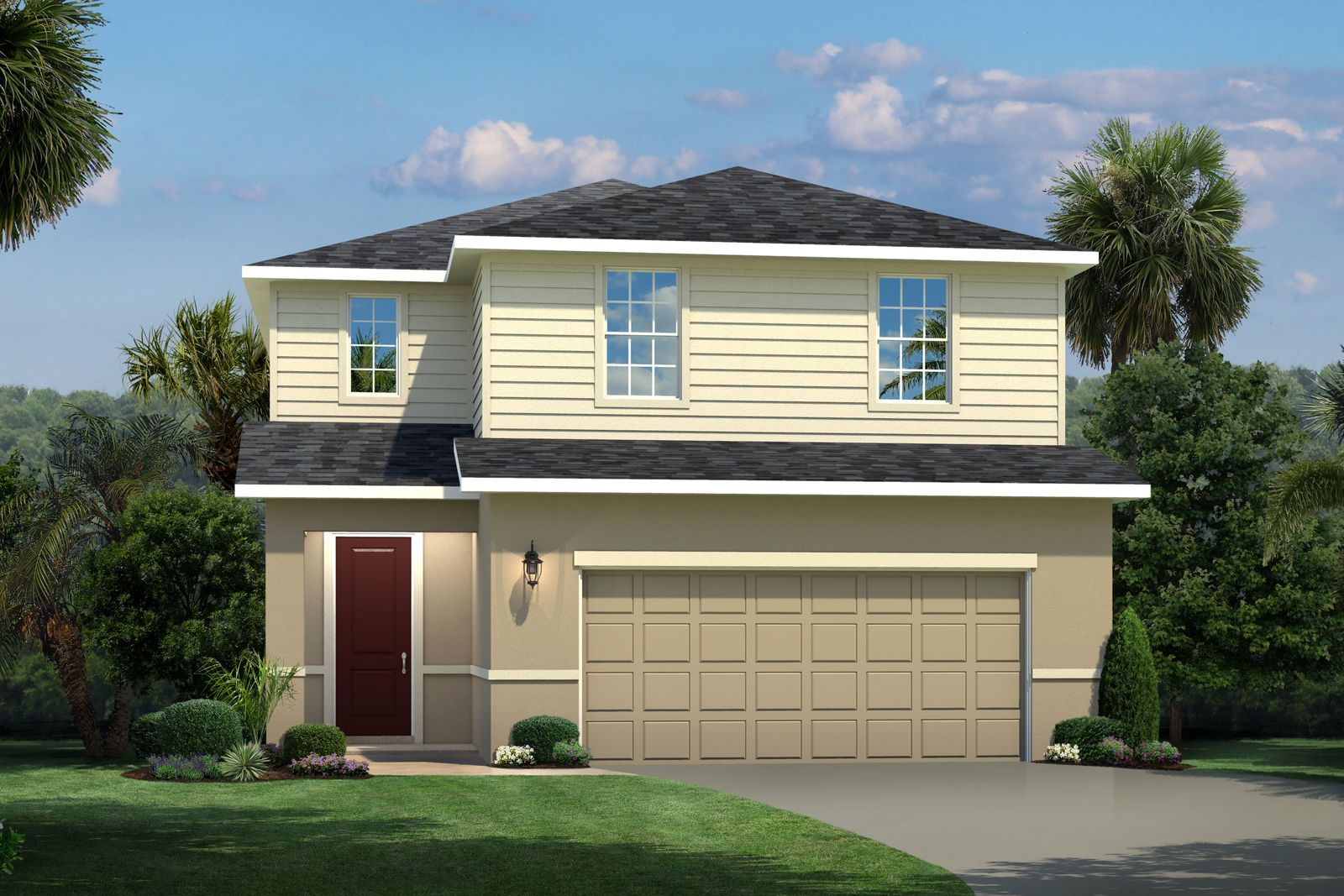 Exterior featured in the Glen Ridge By Ryan Homes in Lakeland-Winter Haven, FL