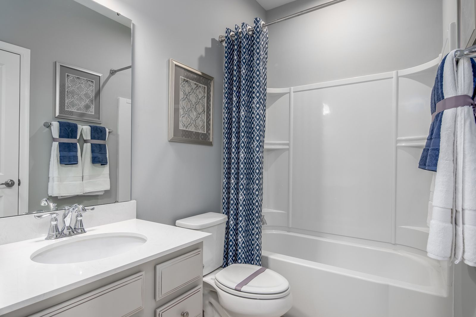 Bathroom featured in the Mozart Rear 2-Car Garage By Ryan Homes in Chicago, IL