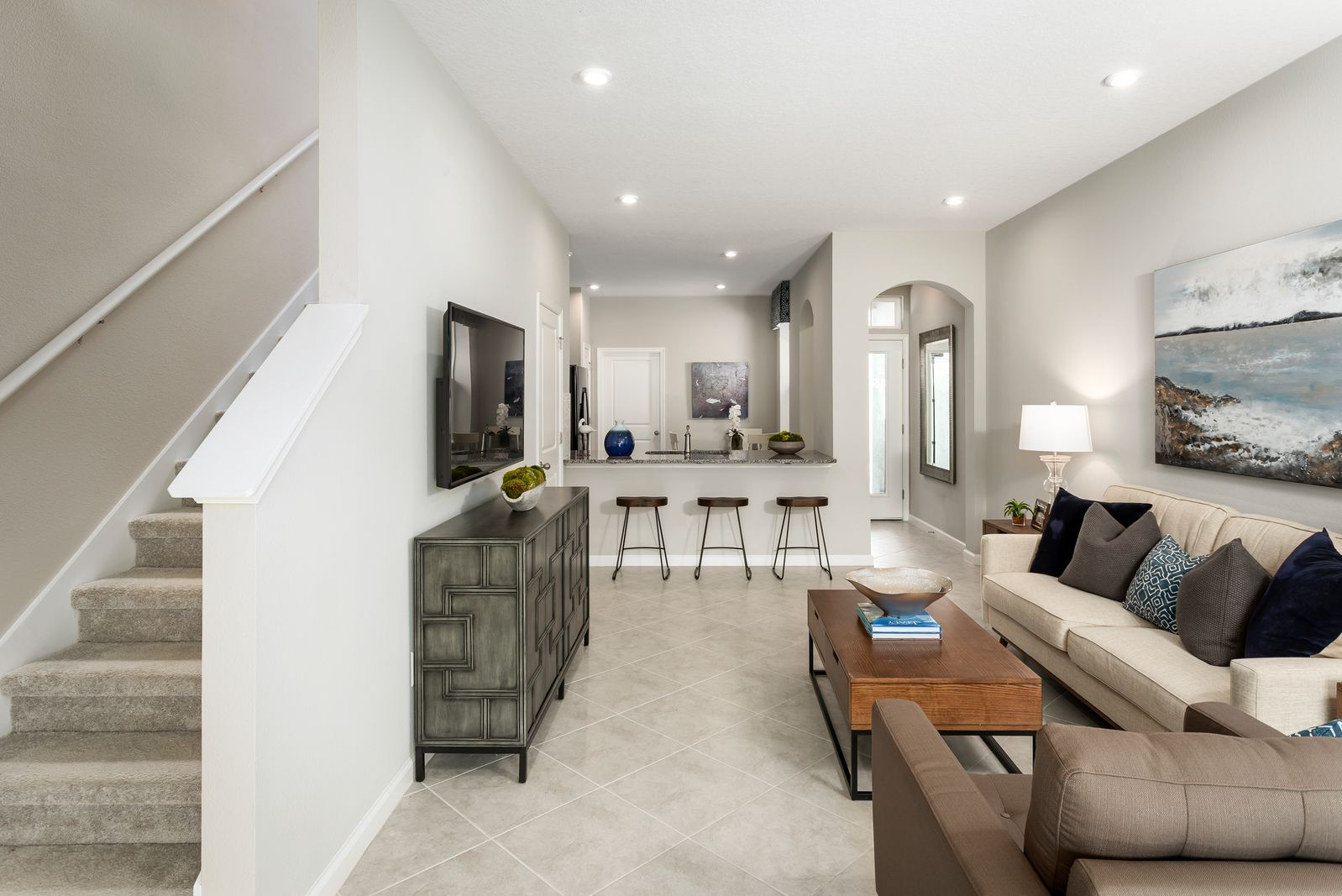 Living Area featured in the Pelican By Ryan Homes in Tampa-St. Petersburg, FL