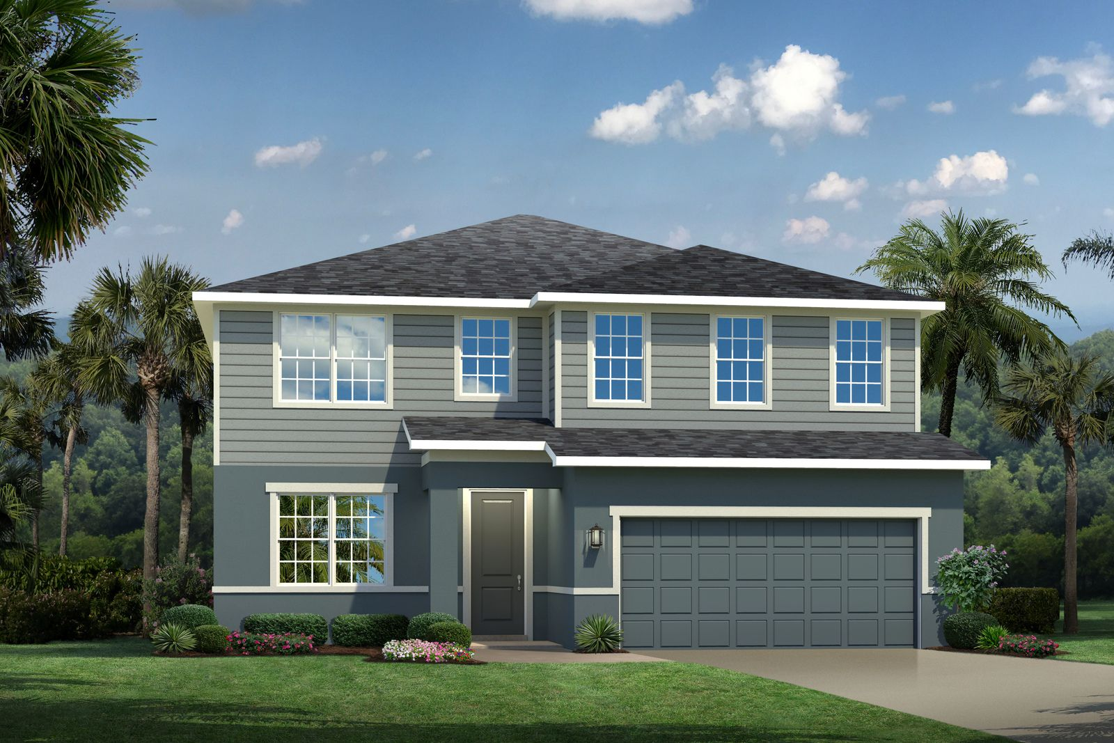 Exterior featured in the Hadley Bay By Ryan Homes in Orlando, FL