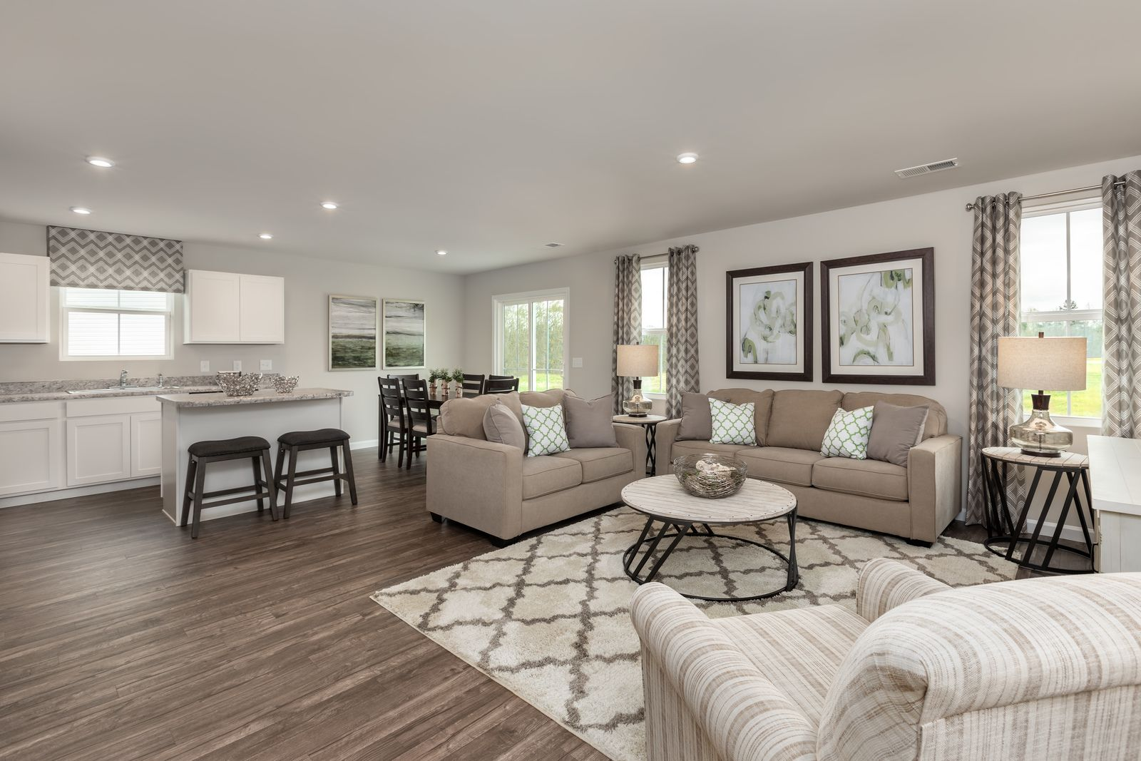 Living Area featured in the Spruce By Ryan Homes in Hagerstown, MD