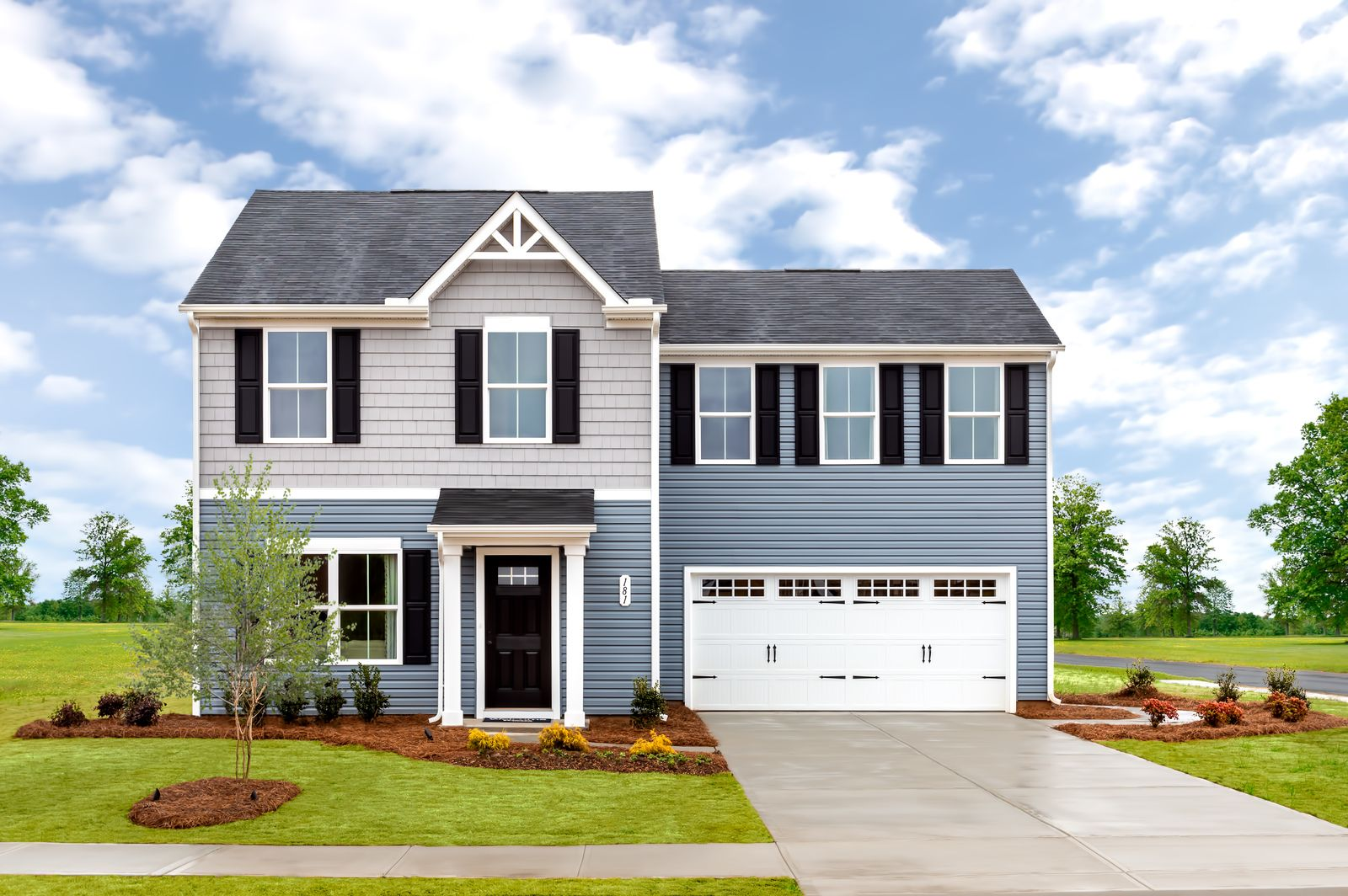 Exterior featured in the Birch By Ryan Homes in Akron, OH