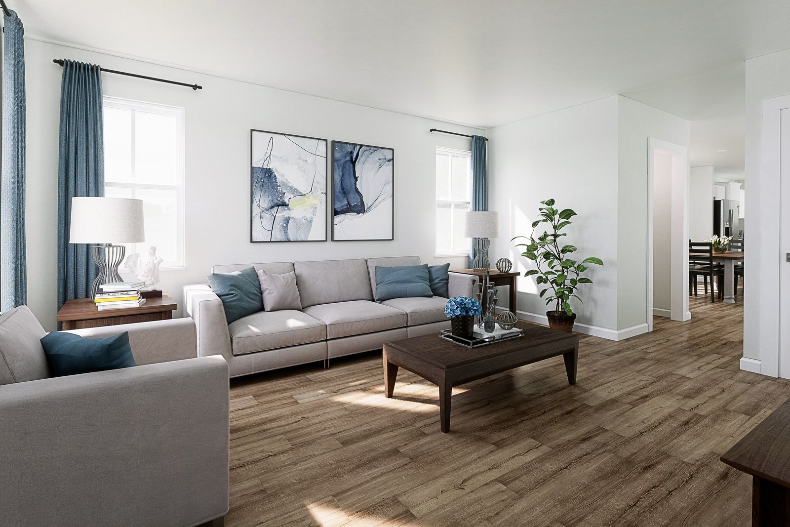 Living Area featured in the Nassau By Ryan Homes in Greenville-Spartanburg, SC