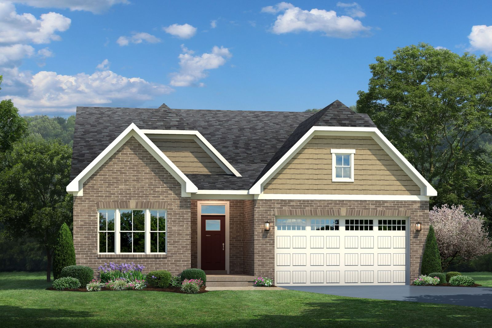 Exterior featured in the Bramante Ranch By Ryan Homes in Chicago, IL