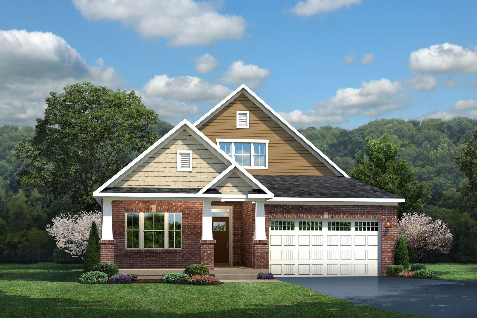 Exterior featured in the Palladio Ranch By Ryan Homes in Chicago, IL