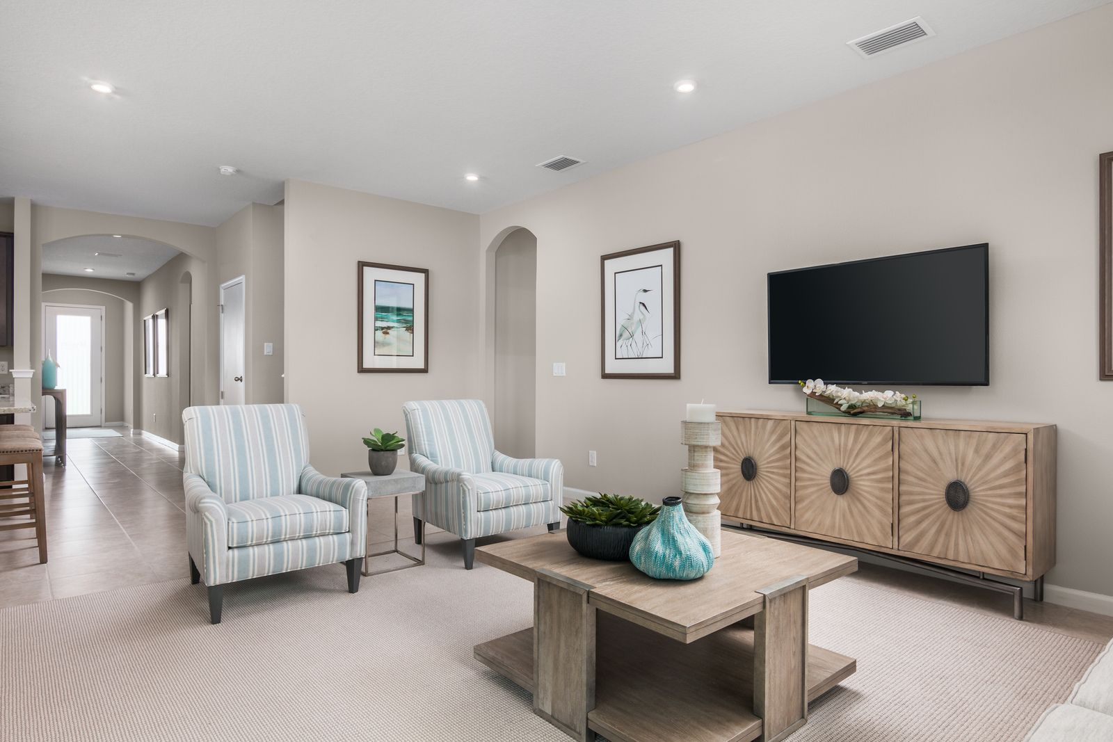 Living Area featured in the Seagate By Ryan Homes in Lakeland-Winter Haven, FL