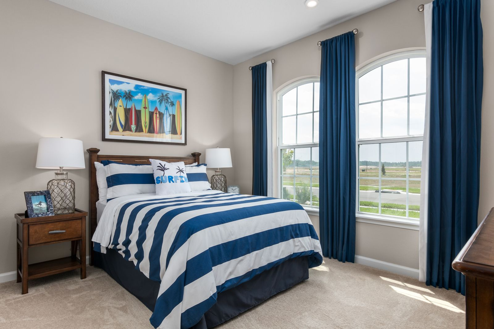 Bedroom featured in the Seagate By Ryan Homes in Tampa-St. Petersburg, FL
