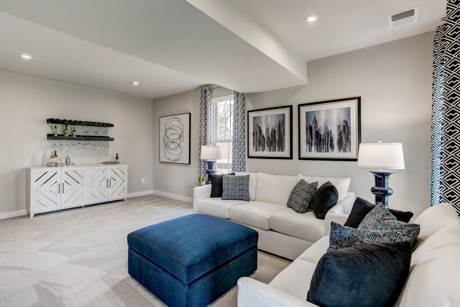 Living Area featured in the McPherson Front Garage By Ryan Homes in Washington, MD