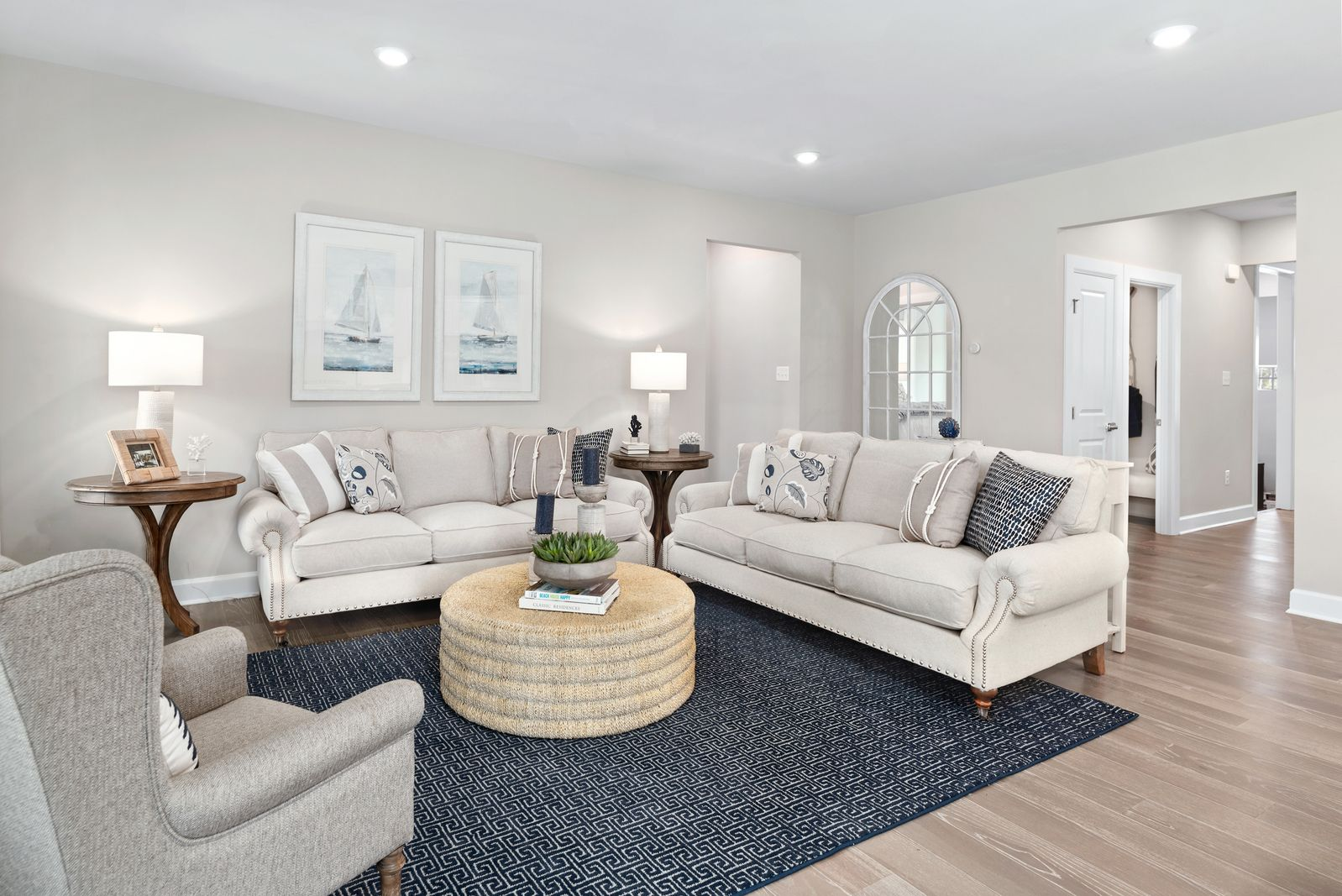Living Area featured in the Stapleton Duplex By HeartlandHomes in Pittsburgh, PA