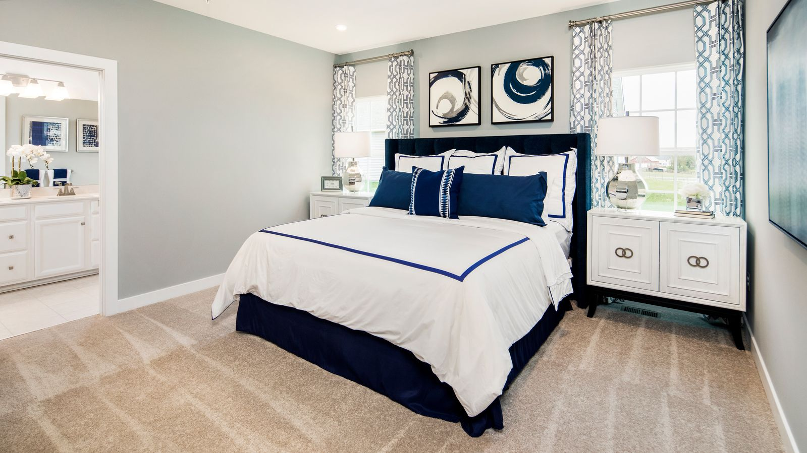 Bedroom featured in the Ashbrooke By Ryan Homes in Washington, MD