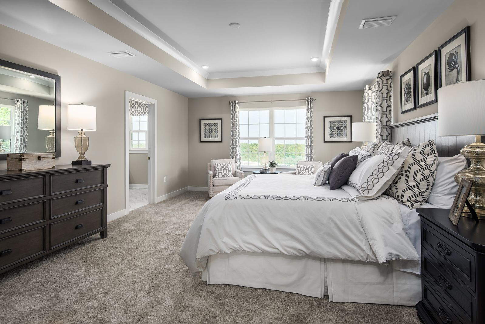 Bedroom featured in the Columbia By Ryan Homes in Washington, MD