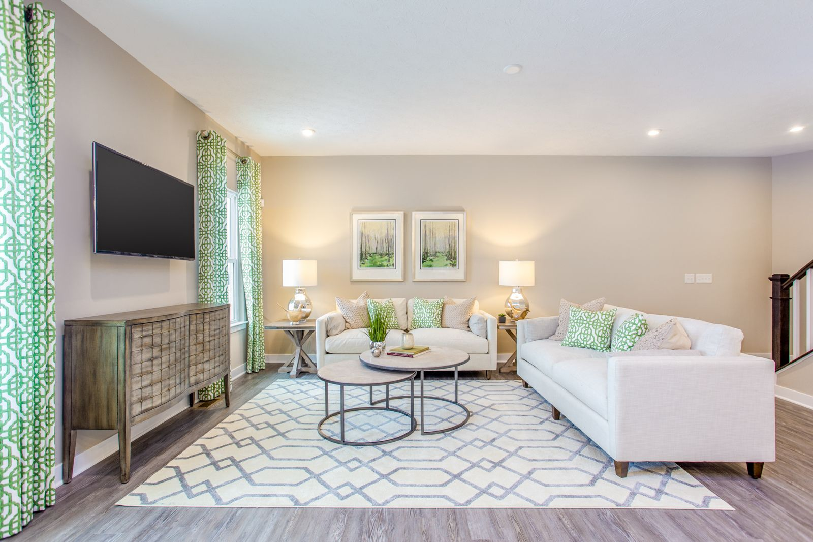 Living Area featured in the Rosecliff By HeartlandHomes in Morgantown, WV