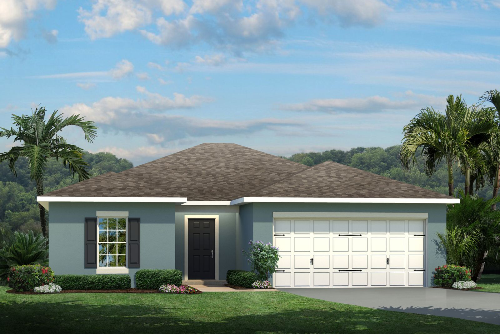 Exterior featured in the Canary By Ryan Homes in Lakeland-Winter Haven, FL