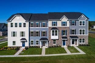 Mendelssohn Rear Entry Garage - Market Point Townes: Greenville, South Carolina - Ryan Homes