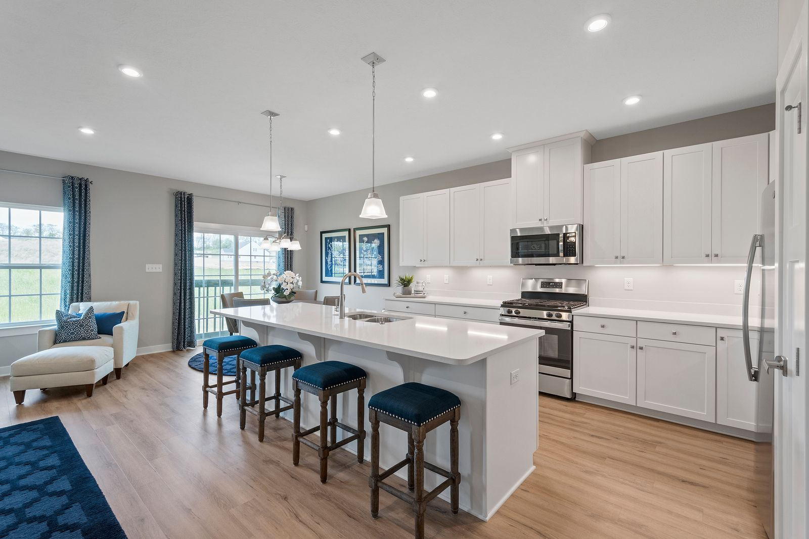 Kitchen featured in the Andover By Ryan Homes in Nashville, TN