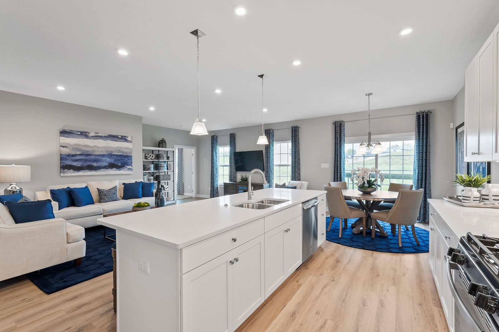 Living Area featured in the Andover Ranch By Ryan Homes in Chicago, IL