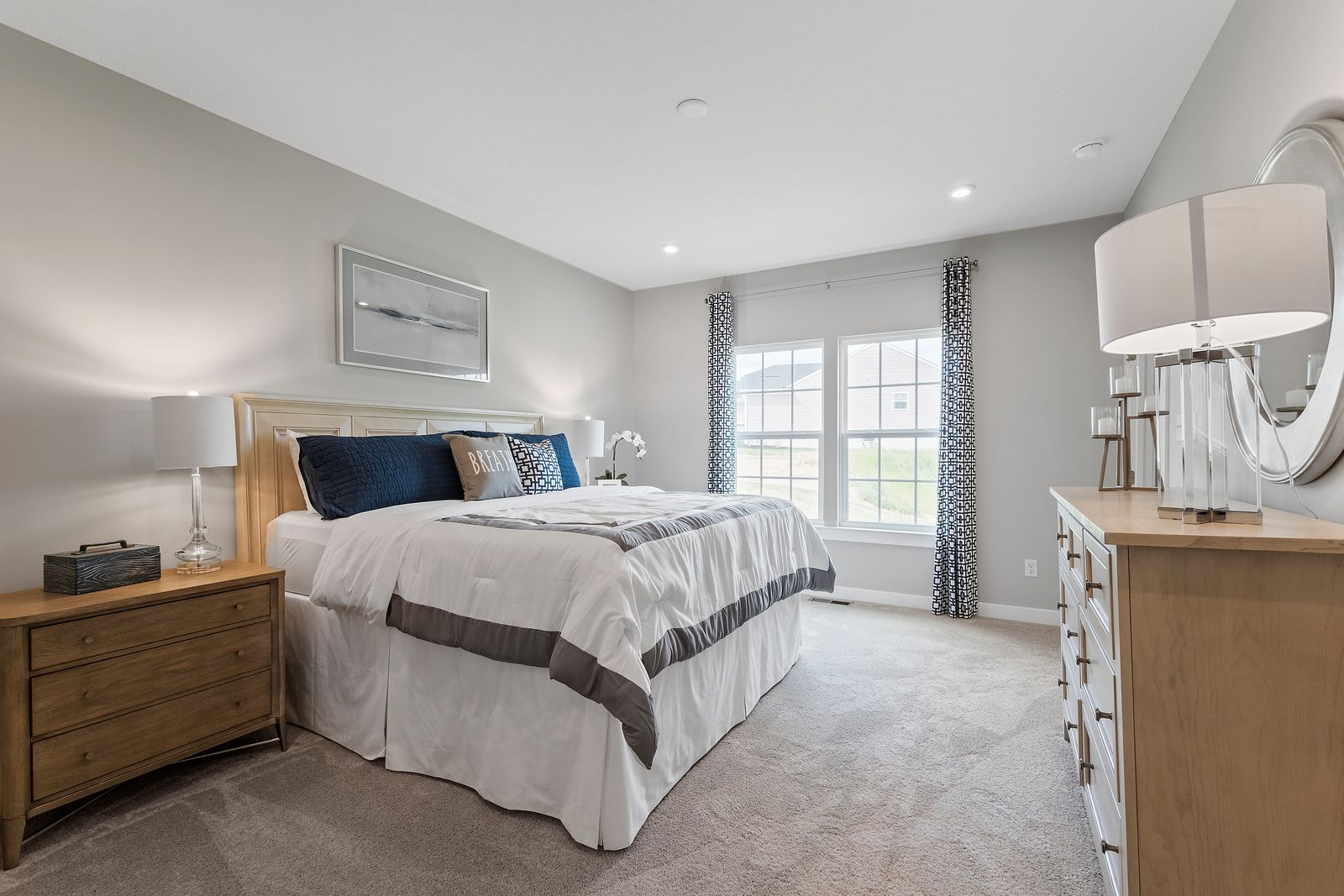 Bedroom featured in the Andover By Ryan Homes in Canton-Massillon, OH