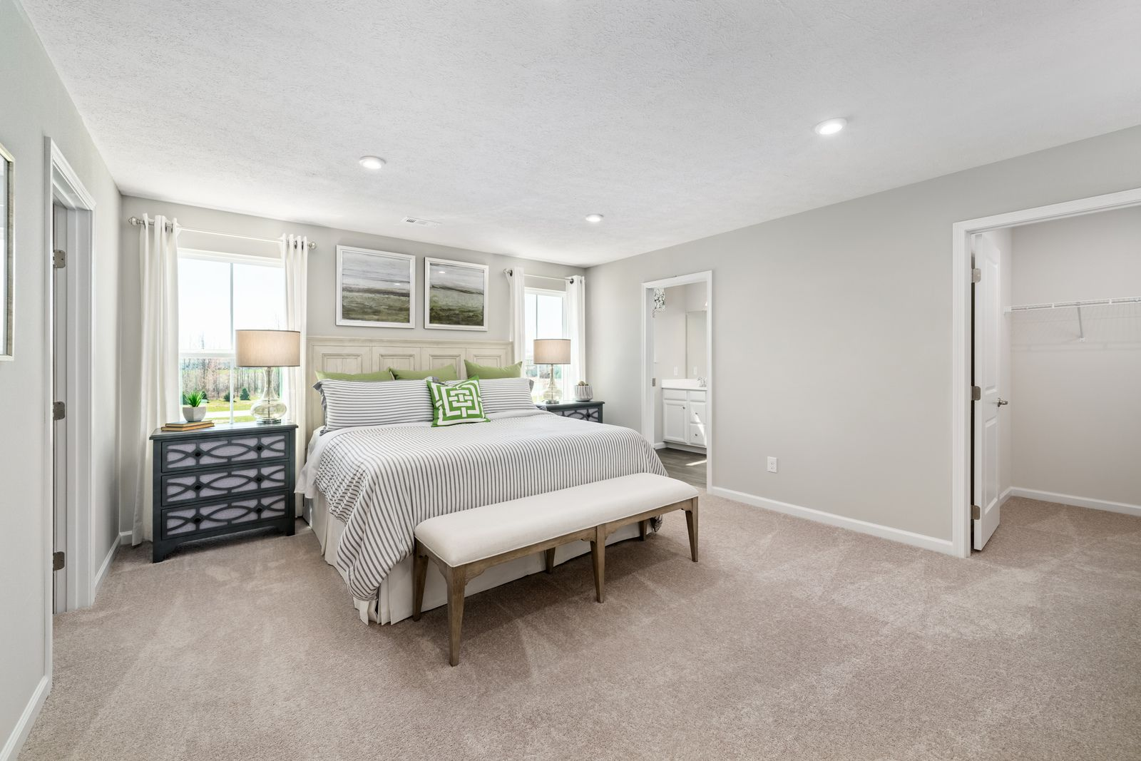 Bedroom featured in the Rosecliff Lux w/ 2' Extension By Ryan Homes in Cleveland, OH