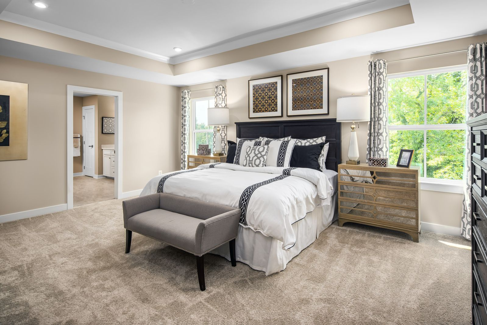 Bedroom featured in the Hudson By Ryan Homes in Washington, VA