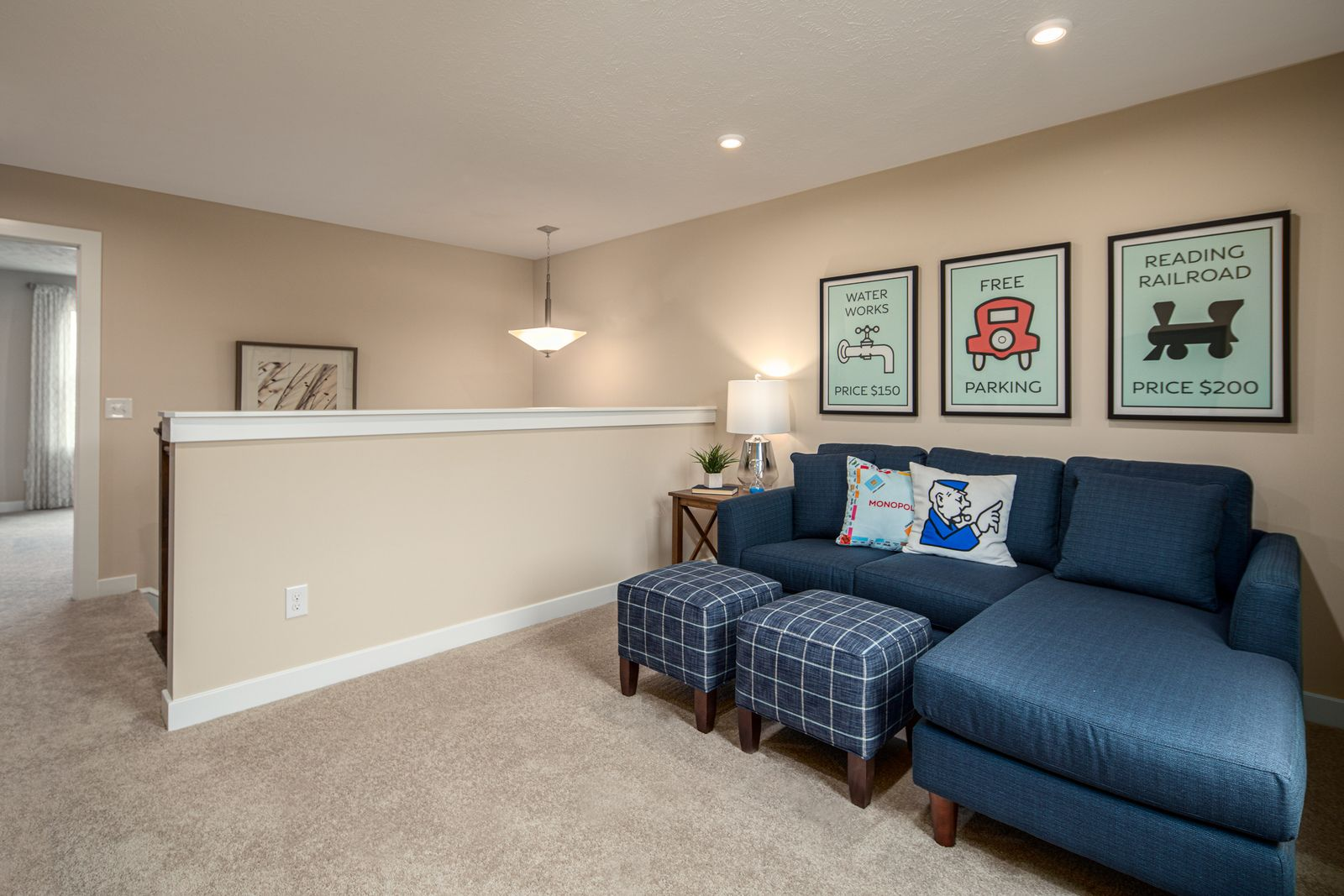 Living Area featured in the Allegheny By Ryan Homes in Canton-Massillon, OH