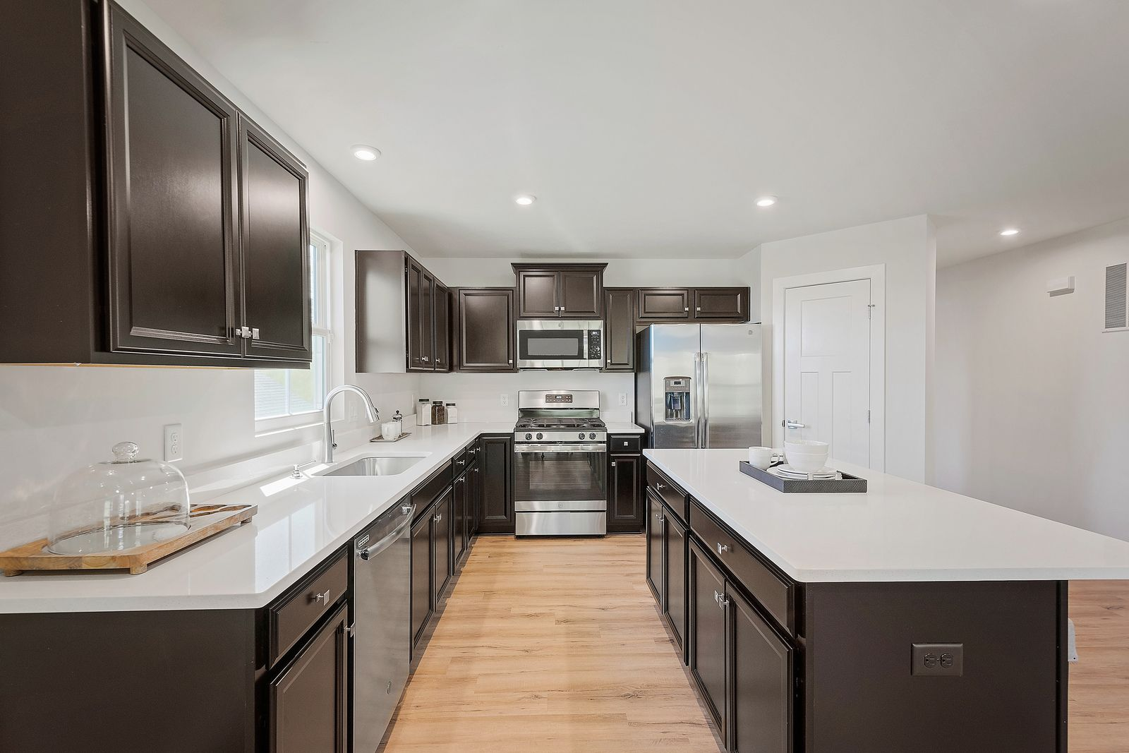 Kitchen featured in the Dominica Spring By Ryan Homes in Canton-Massillon, OH