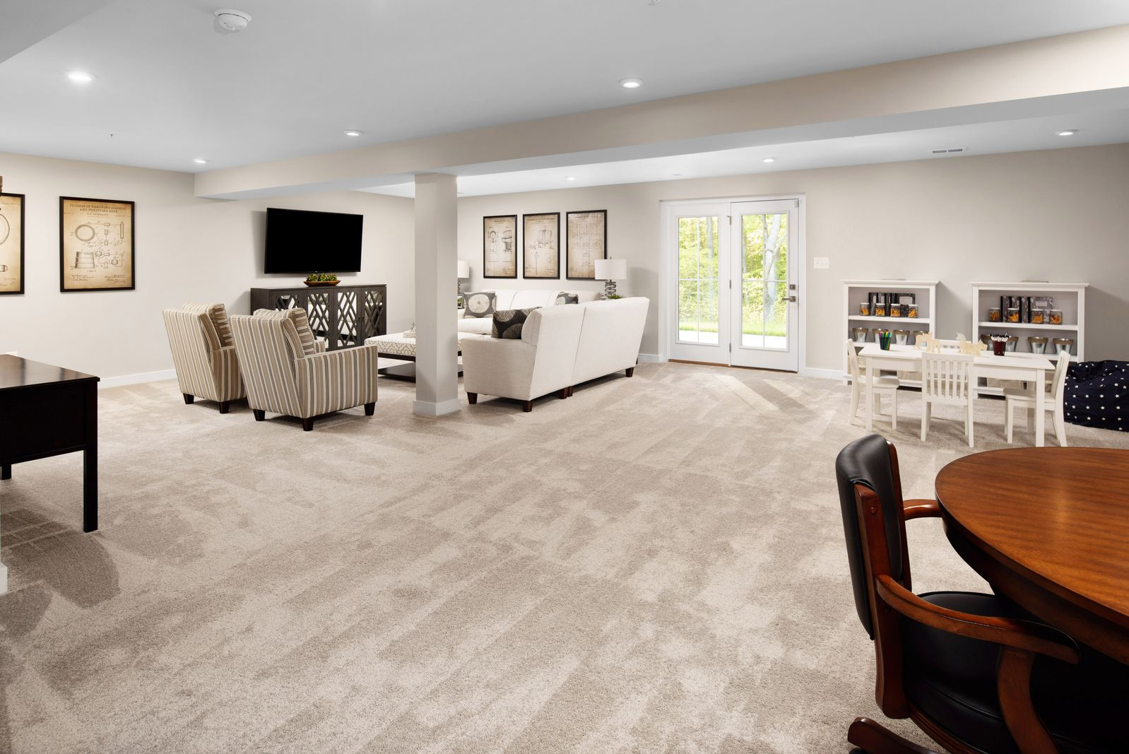 Living Area featured in the Bramante Ranch Slab - Basement Available By Ryan Homes in Chicago, IL