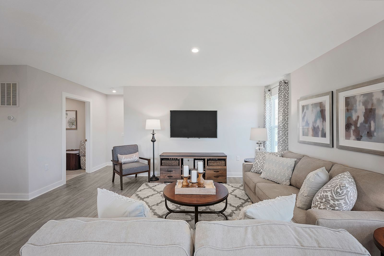 Living Area featured in the Grand Bahama By Ryan Homes in Akron, OH