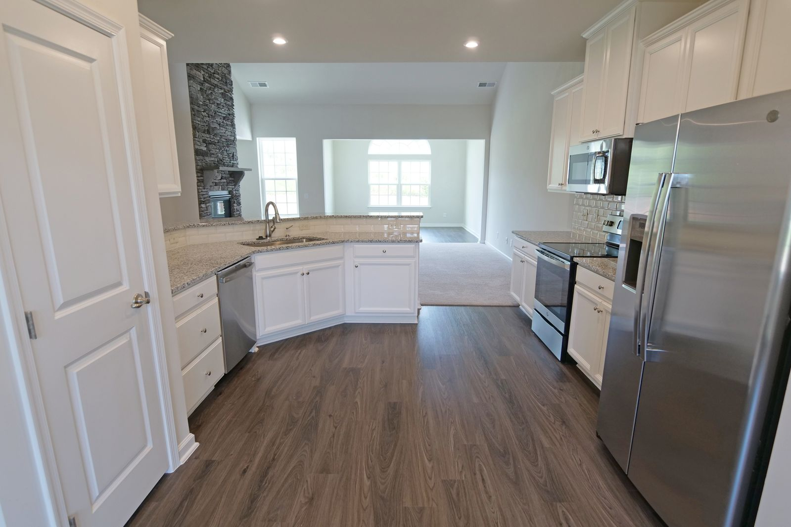 Kitchen featured in the Ashford By Ryan Homes in Greenville-Spartanburg, SC