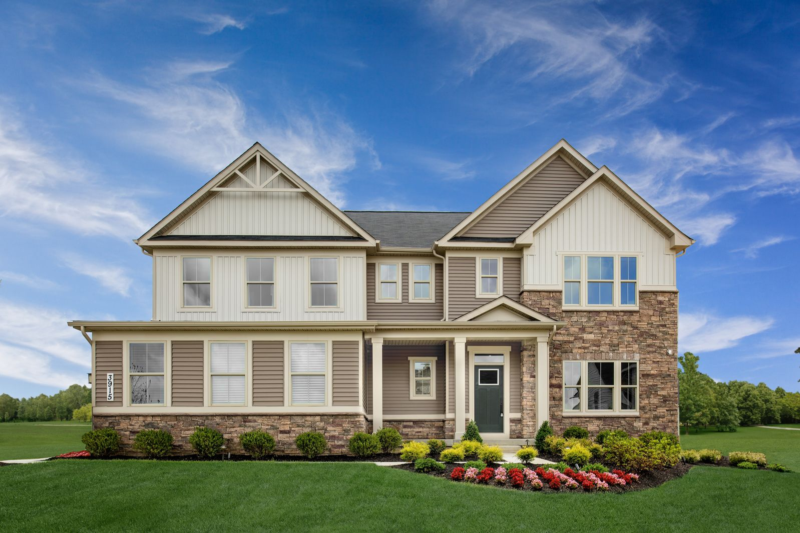 Exterior featured in the Roanoke By Ryan Homes in Canton-Massillon, OH