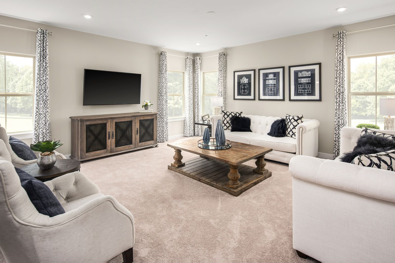 Living Area featured in the Roanoke By Ryan Homes in Washington, MD