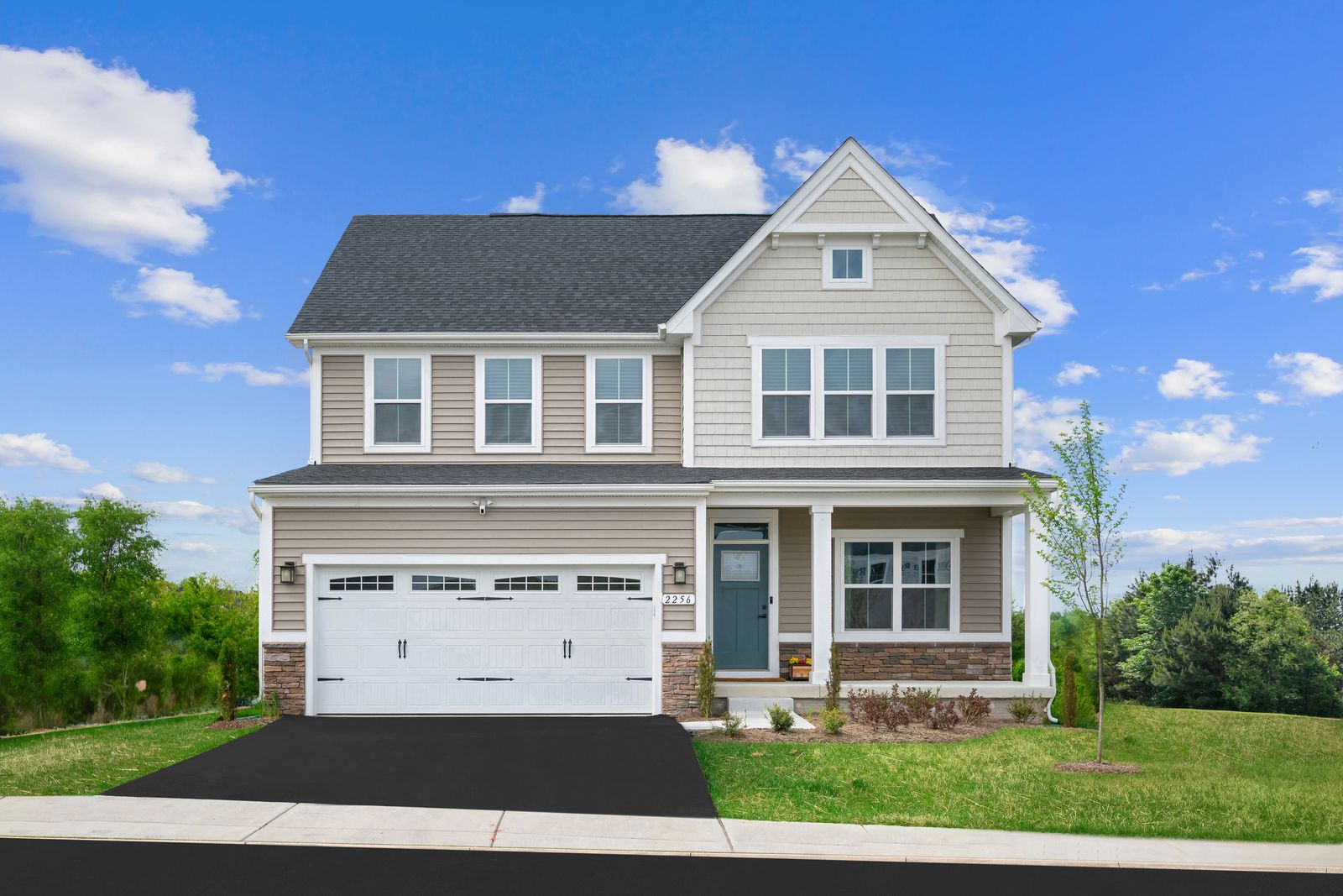 Columbia Plan At Ballenger Run Single Family Homes In Frederick Md By Ryan Homes