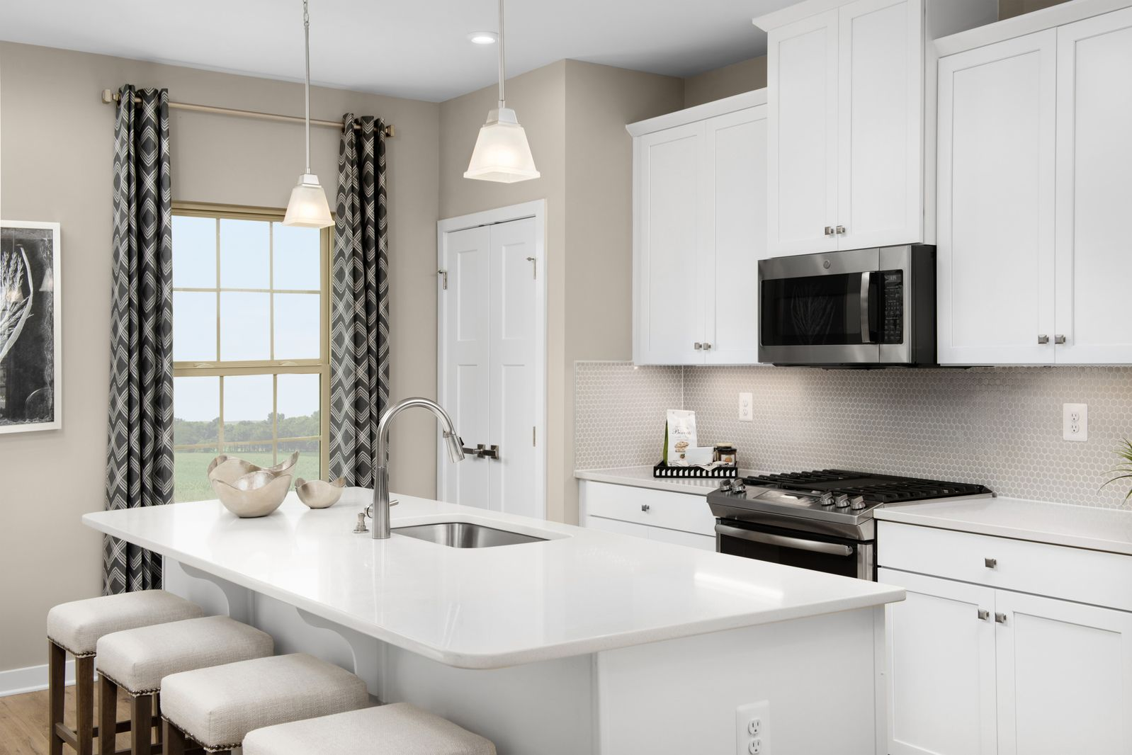 Kitchen featured in the Mendelssohn Front Garage By Ryan Homes in Washington, MD