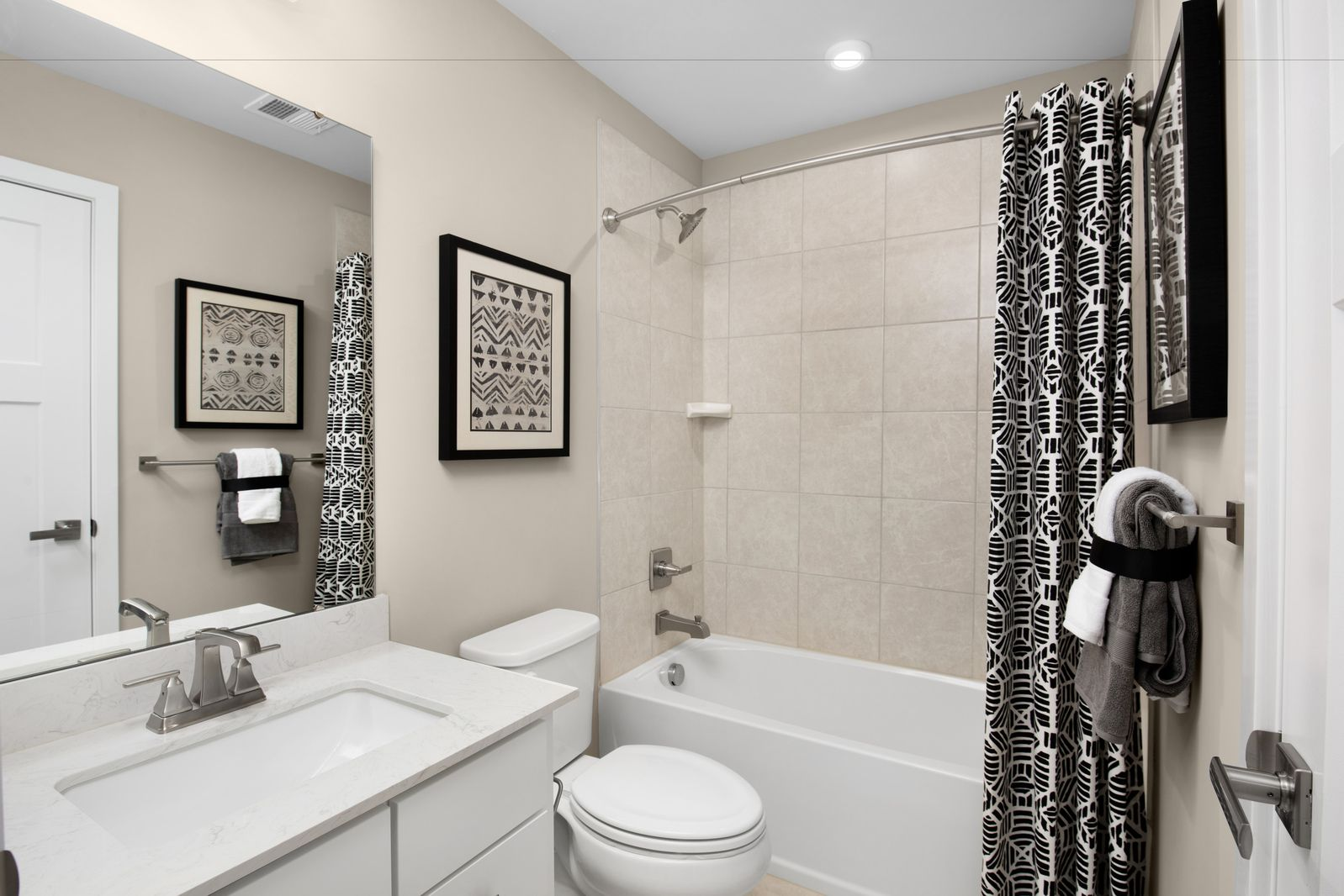 Bathroom featured in the Mendelssohn Front Entry Garage By Ryan Homes in Greenville-Spartanburg, SC